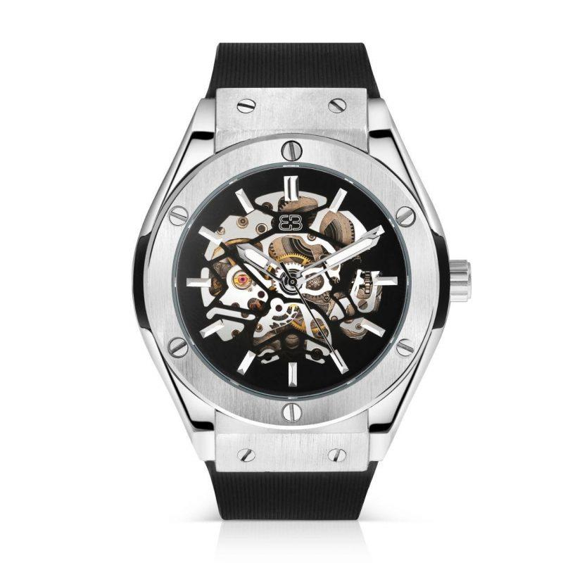 Luxury Black Automatic Watch