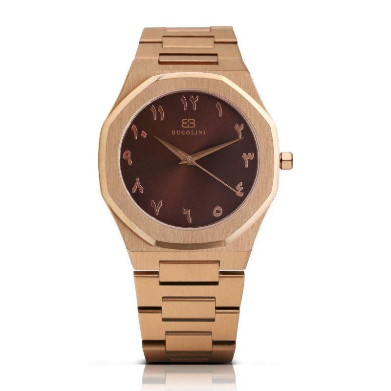 Quartz Rose Gold Watch
