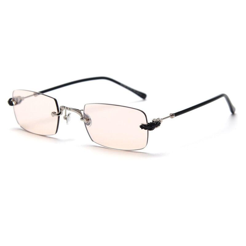 Men Transparent Sunglasses
