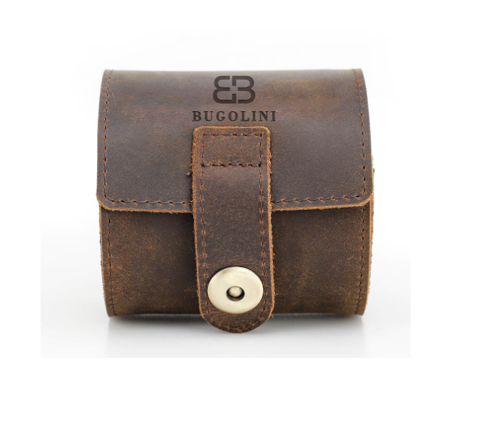 Leather Watch Case Holder